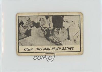 1963 Topps Monster Midgees Mini-Monster Laffs Yichh This man never bathes 0ad