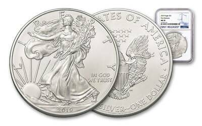 PRE SALE  2019 $1 1-oz Silver American Eagle NGC MS70