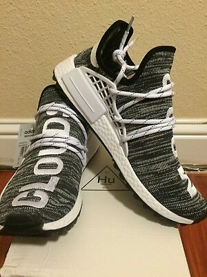 cheap for discount 9a228 f5aab ADIDAS X PW Human Race HU NMD gray Oreo men Size 11