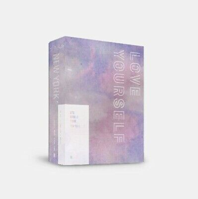 BTS World Tour Love Yourself Seoul DVD Photo Book Card Poster Gift