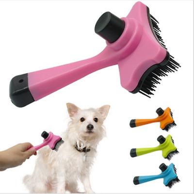 New Self Cleaning Slicker Brush for Pet Grooming Cat and Dog Long & Thick Hair