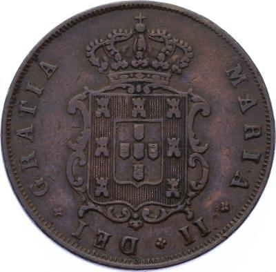O2085 Portugal 5 Reis Maria II 1848 XF ->Make offer