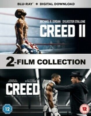 Creed + Creed 2 (Sylvester Stallone) Two New Region B Blu-ray + Digital