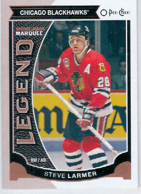 2015-16 O-Pee-Chee LARMER Marquee Legend SP #591 Chicago Blackhawks OPC UD STEVE