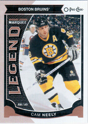 2015-16 O-Pee-Chee NEELY Marquee Legend SP #587 Boston Bruins OPC UD CAM