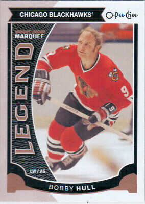 2015-16 O-Pee-Chee HULL Marquee Legend SP #554 Chicago Blackhawks OPC UD BOBBY