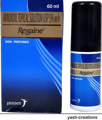 2 Pack- Regaine Minox Topical Solution USP 5% Hair Regrowth & Promoter For Men