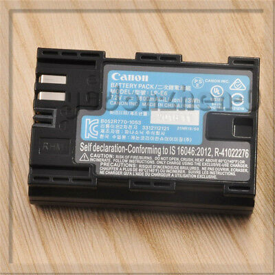 OEM Original Canon LP-E6 Battery For Canon EOS 5DII 60D 70D 80D LC-E6 LP-E6N