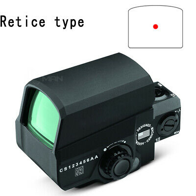 Hunting Red Dot Sight Optic Holographic LCO Reflex 20mm Rail Outdoor Black