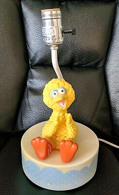 Vtg Big Bird Lamp Nursery No Shade Works