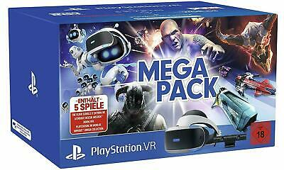 Virtual Reality 3D Brille Sony PlayStation PS 4 VR2 MEGA PACK BUNDLE Kamera NEU