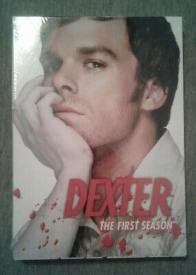 DEXTER The FIRST Season 4 Disc Showtime DVD Set Michael C Hall NEW Sealed