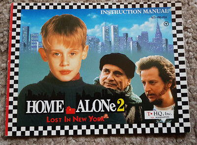 Replacement Manual for Home Alone 2 Lost in New York on NES US Ver Manual Only