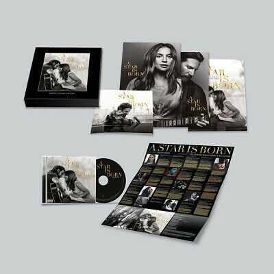 Lady Gaga A Star Is Born -  (Deluxe Set) [CD] Includes Movie Posters