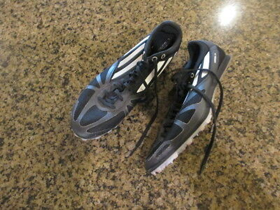 sneakers for cheap da74f 2f3b2 Adidas Arriba IV Running Spikes Mens 10.5 12 Black Track Field cleats