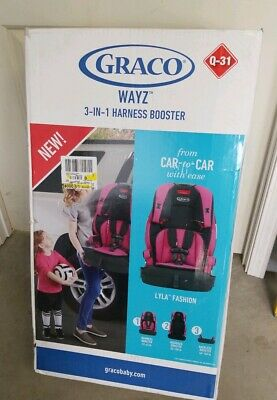 Graco Tranzitions 3-in-1 Harness Booster Convertible Car Safety Seat Baby Child