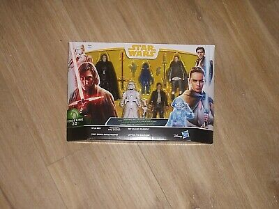 Star Wars Force Link 2.0 TLJ Solo 5 Figure Pack Exclusive Holographic Maz Kanata