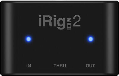 IK Multimedia iRig MIDI 2 Core MIDI Interface for iOS Devices