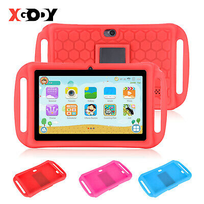 XGODY ANDROID 4.4 7 INCH 8GB Kids Tablet PC Quad-Core WIFI Bluetooth Bundle Case