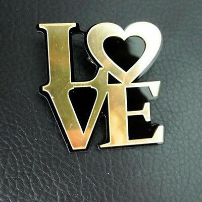 1Pcs Women Brooch Pin Letter LOVE For Clothes Decoration Accessory Pretty Hot F