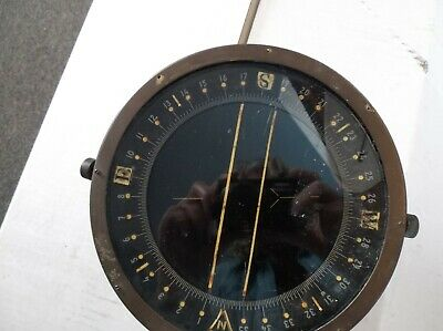 Vintage Rare Army/Air Force WWI / WWII Compass 1833-1-A - Bendix Corp D-12