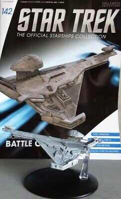 STAR TREK Official Starships Magazine #142 Promellian Battle Cruiser Starship en