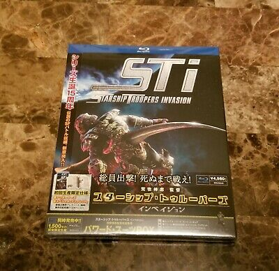Starship Troopers: Invasion [Limited Release] [Blu-ray] JP