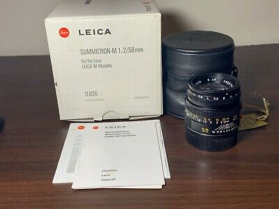 Leica SUMMICRON-M 50mm f2 (5th/ Last Version) Lens for Leica M with Box