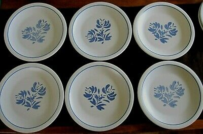 """6 Pfaltzgraff YORKTOWNE  Dinner Plates plate SET  10""""  ~more sets of 6 available"""