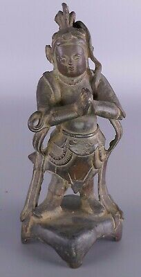 Early Chinese Bronze Figure Work Of Art
