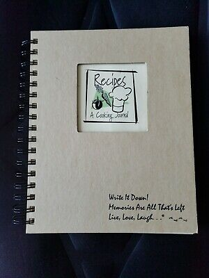 RECIPE BOOK: AN empty recipe book for you own recipes (FREE SHIPPING