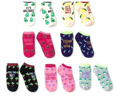Circo NWT Girls' Socks Bundle No Show Shoe Size 9-2.5