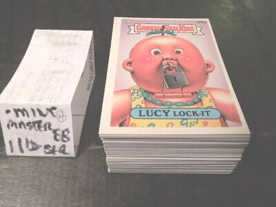 1987  87  Garbage Pail Kids GPK USA Series 11  Complete Set  88 cards  -mint