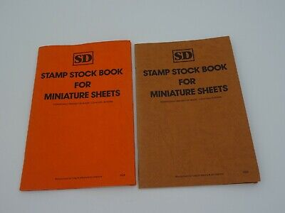 SD Stamp stock book for miniature sheets SD4 x 2