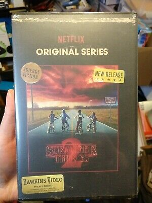 Stranger Things Season 2 Blu-Ray/DVD Collector's Edition New Sealed