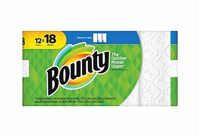 Bounty Select-a-size Paper Towels White 12 Count