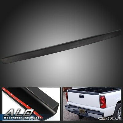 For 99-07 Chevy Silverado 1500 GMC Sierra SL Tailgate Top Cover Protector Black