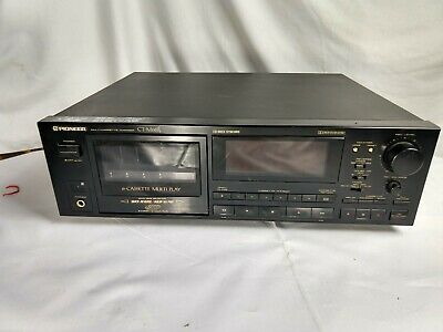 Pioneer CT-M66R 6 Cassette Changer Deck Vintage Stereo Equipment Tape Player