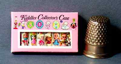 Dollhouse Miniature 1:12 scale  Liddle Kiddles Collector Case Box Kiddles toy