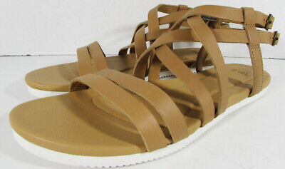 d7698afe7c7a  80 TEVA WOMENS Avalina Crossover Leather Flat Sandal Shoes