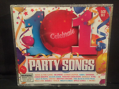 SEALED 101 PARTY Songs/Hits (5-CD's,Sony/Universal) 1980s-1990s-2000s-2010s  READ