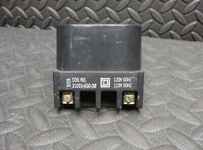 Square D 31091-400-38 Coil 110 120 Volt Used