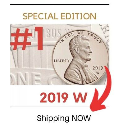 LIMITED QUANT. 2019 W #1Lincoln Penny Premium PROOF West Point/ORIGINAL PACKAGE