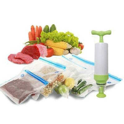 Kitchen Storage Packing Reusable Pouch Vacuum Food Sealer Bags Saver Seal Bag SH