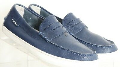 11fc5b709c2 Cole Haan Pinch Weekender C13428 Navy Moc Toe Penny Loafer Men s US 9.5 M