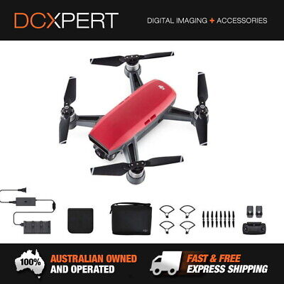 Dji Spark 'Fly More Combo' – Lava Red