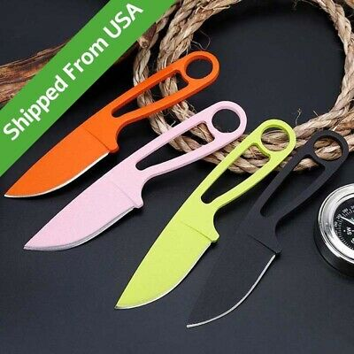"6"" Small Fruit Knife Fixed Blade Tactical Pocket Survival Knife With Cover"