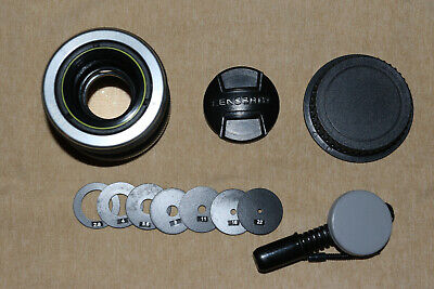 Lensbaby Composer 50Mm Double Glass Optic Canon Ef Lens W/ Aperture Discs