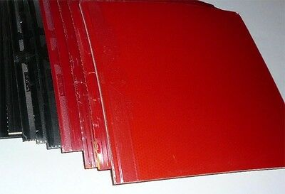 12x ITTF Approved Traning Table Tennis Rubber Sheets, Pips-in, for return board