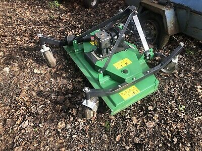 4ft Grass Topper, Finishing Mower, New, (Flail, smallholding, compact tractor)